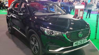 新的2019 MG ZS EV:价格宣布